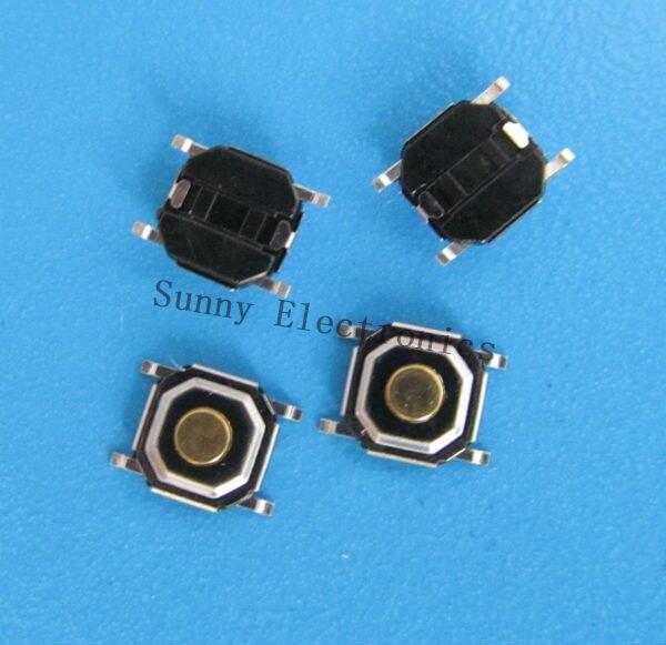1000pcs 4*4*1.5mm SMD push button switch microswitch Tact Switch<br><br>Aliexpress
