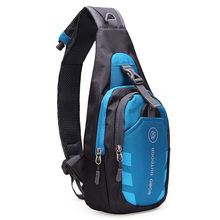 Fashion Men Women Pest Bag Loves' Crossbody Bag Leisure Waterproof Chest Waist Pack Shoulder Fanny Bags Pouch(China)