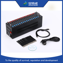 Wavecom Q2403A Module, 16 Port USB GSM Modem/ Bulk SMS Sender,AT Command, STK, USSD(China)