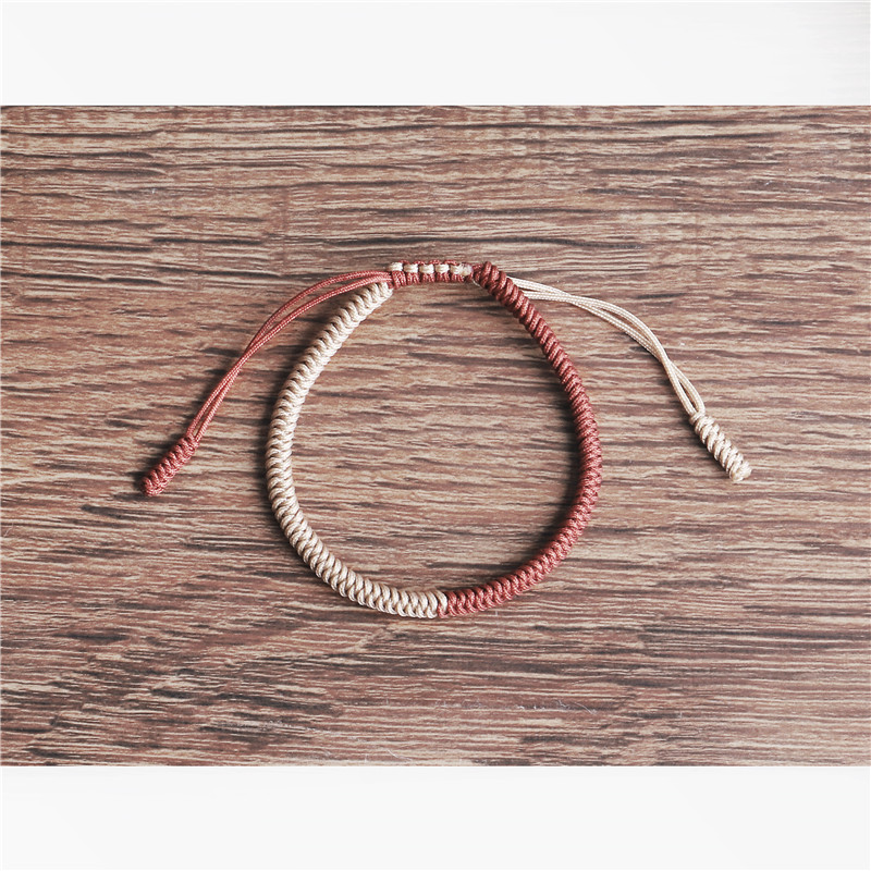 Tibetan Lucky Rope Bracelet