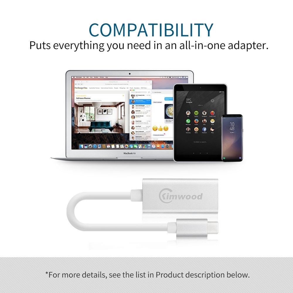 USB C to HDMI Adapter,5