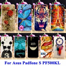 DIY Flexible Soft TPU Silicon Phone Cases For Asus Padfone S PF500KL Housing Bags Skin Shell Covers Protector Shield Rubber Hood