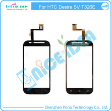 For HTC Desire SV T326E Glass Lens Touch Screen Digitizer Replacements +Free Tools+Track Number(China)