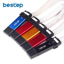 USB ISP USBasp USBISP Programmer for 51 ATMEL AVR Download Support Win7 64Bit Color Random(China)