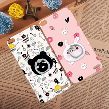 Lovely Panda 3D Relief Case Cover For Huawei Honor Nova Note 8 Retro Rabbit Brown Bear Hard Shell For Huawei Honor X1 X2(China)