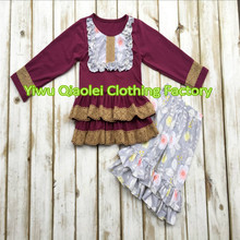 Discount ON SALE fall girl clothes hot sale high quality cotton dress