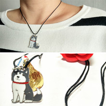 Husky necklace, fashion jewelry, fashion necklace, Christmas gifts, send a friend a birthday gift, jewelry wholesale shop,