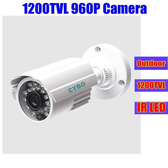 1200TVL home surveillance camera hd 960p outdoor waterproof bullet ir infrared nightvision cctv security cameras de seguranca<br>
