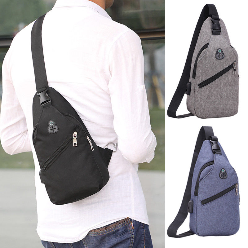 Sling Chest Bag Cross Body Backpack Fanny Pack Sport Travel Hip Waist Bags New
