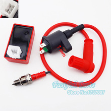 Racing Ignition Coil & 5 pin AC CDI & A7TC Spark Plug For Chinese ATV Quad Pit Dirt Bike CRF50 Motorcycle Motocross(China)