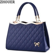 Woman Handbags Korea Bow Leather Messenger Bags Luxury Handbags Women Bags Designer Bags Handbags Shell Bag Famous Brands HP300Z(China)