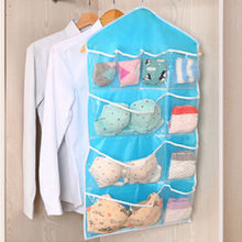 10/16 Pockets Clear Over Door Hanging Bag Shoe Rack Hanger Storage Tidy Organizer Warm Home 2016(China)