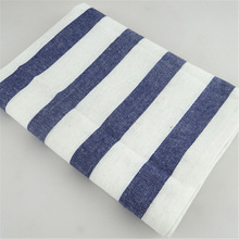6pcs/lot New Blue Plaid Napkins Tea Towel Cotton Cloth Folding Table Napkins Simple Style Mediterranean Guardanapo De Tecido