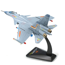 KAIDIWEI 1/72 Scale Fighter Plane Model Toys J-15/Flying Shark/Flanker-D Carrier-based Aircraft Diecast Metal Plane Toy For Gift