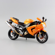 1/12 Scale child Kawasaki ninja ZX 10R diecast moto race mini collectible motorcycle models bike vehicles sports gifts for toys