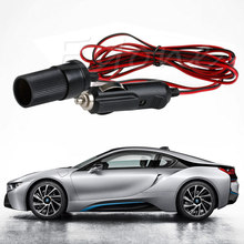 3M 12V 24V Car Cigarette Lighter Power Plug Socket Cord Adapter Extension Cable(China)