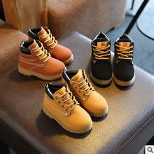Buy 2017 autumn winter hot sale child casual cotton boots kids non-slip keep warm martin snow boots boys girls sneakers baby shoes for $8.49 in AliExpress store
