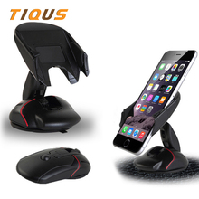 Universal Car Mobile Phone Holder Stand Mount Silicone Sucker Windshield 360 degree rotation for Mobile iphone 6 PLUS 7 Samsung