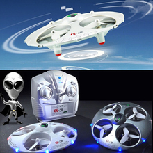 Mini Drone Copter Gife For Kids 4CH 2.4GHz Syma 3DFlips UFO Rc Helicopter Toy CX-31 Quadcopters dron(China)