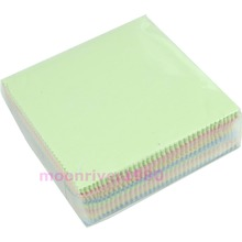 100Pcs/lot Microfiber Phone Screen Camera Len Glasses Square Cleaner Cleaning Cloth(China)