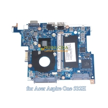 MBSCH02001 NAV50 LA-5651P Laptop Motherboard for Acer Aspire One D260 LT23 System board Atom N450 1.66Ghz CPU Mainboard Tested