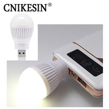 CNIKESIN USB Socket LED Bulb Reading Lamp Soft Light Night Light Holder Flashlight Energy Conservation 5 Colors Options(China)