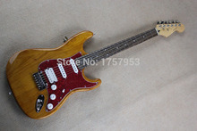 guitar factory 2015 New Natural alder body st electric guitar free shipping 1111 stratocaster(China)