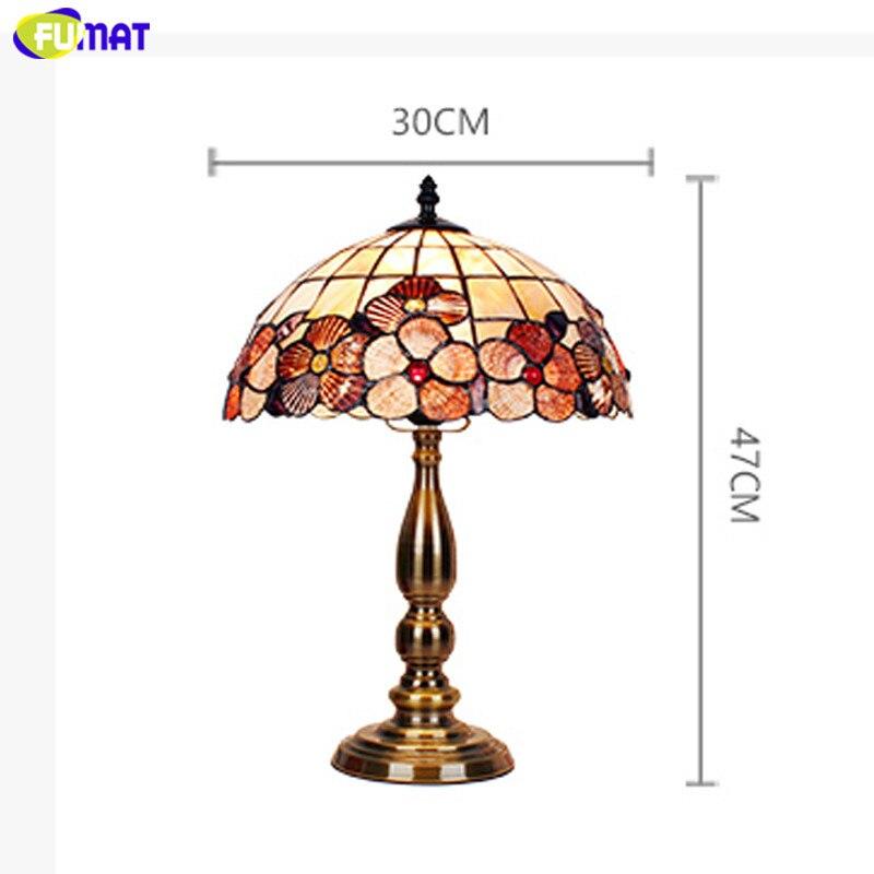 Shell Tiffany Table Lamp23