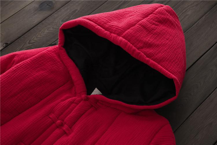 female winter hooded cape (14)