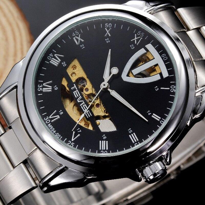 2017 Brand Original TEVISE Mechanical Men Watch Luxury Business Big Watch Luminous Watches Clock Wristwatches Relogio Masculino<br><br>Aliexpress