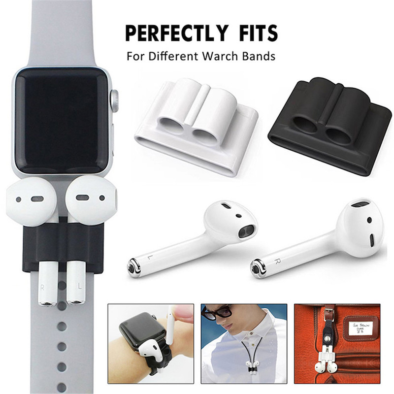 Pack-of-5-Accessories-Silicone-Case-Cover-Earphones-Pouch-Anti-Lost-Strap-Holder-Eartips-Carabiner-Buckle (1)