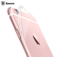 Baseus HD Clear Crystal Sleeve Case For iPhone 6 6s 6 Plus 6s Plus Ultra Slim Thin Soft TPU Rubber Phone Cover Silicone Case