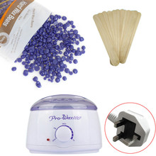 Professional Purple waxes Hair Removal Hot Paraffin Wax Warmer Heater Pot Machine Depilatory Hard Wax Bean 100g Hair removal wax(China)