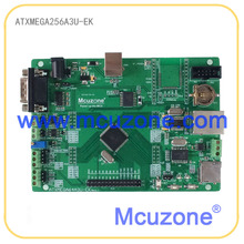 ATxmega256A3U-EK development board,12Bit ADC and DAC,7 USARTs, PDI, USB Device, XMEGA, Ethernet, CAN, RTC XMEGA256A3U ATMEL