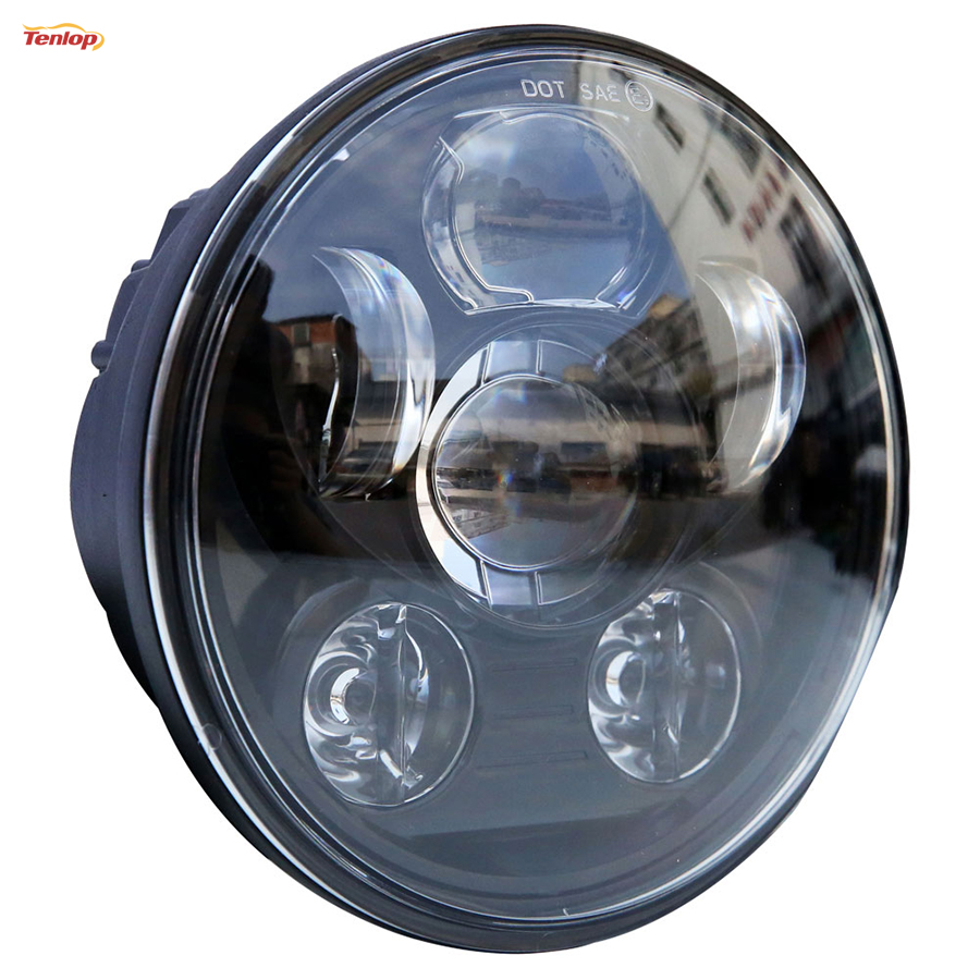 2016 New Type 5.75 Inch 45W Headlight High Low Beam For Harley<br>