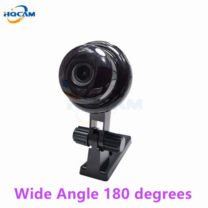 HQCAM 720P 1.0MP Button Wide Angle MINI Camera WIFI,Two-way voice built-in TF Card Slot,Night Vision Home Security IP Camera<br>