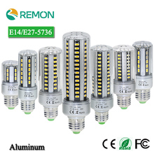 24 36 42 54 60 78 90leds LED Corn Bulb E27/E14 AC85-265V Aluminum Lamp 5W 7W 9W 12W 15W 18W 20W - Asign Regan Cross-border Trade Store store