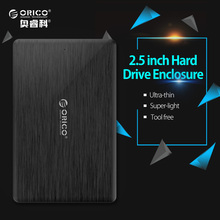 ORICO SATA 3.0 Case 2.5 Inch HDD Case USB3.0 Micro B External Hard Drive Disk Enclosure for SSD Support UASP SATA 3 hdd caddy(China)