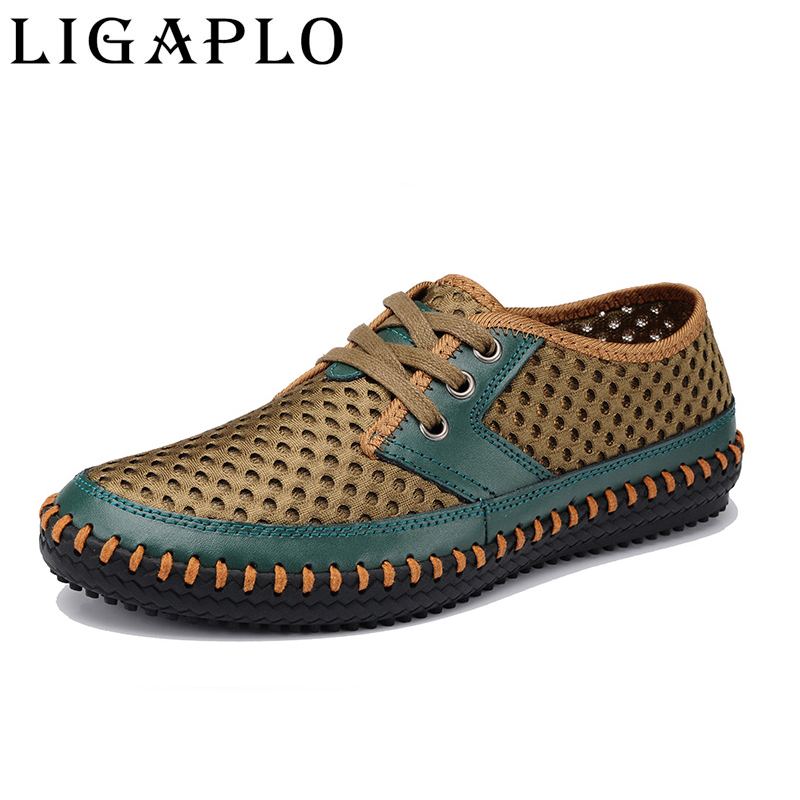 2017 Hot Fashion Brand PMA Spring summer Men Shoes Breathable Shoes men Comfortable shoes Big size 39-46<br><br>Aliexpress