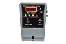 HOT SELLING Coin-operated Breath Alcohol Tester AT809 Breath sampling time about 5 seconds continuous breath.
