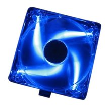GTFS Hot Computer PC Case Blue LED Neon Fan Heatsink Cooler 12V(China)