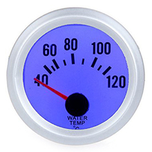 40-120 Celsius Degree Water Temperature Meter Gauge with Sensor(China)