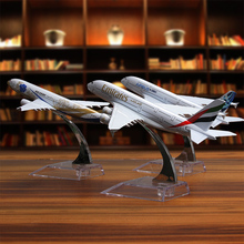 Global Aircraft passenger 1:400 Plane Model Alloy materials Kids Toys for children Airbus simulation A380 A320 A330 B777 B757