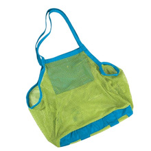 1Pc Children sand away beach mesh bag Clothes Towel Bag baby toy Storage Bags For Children Beach Toys