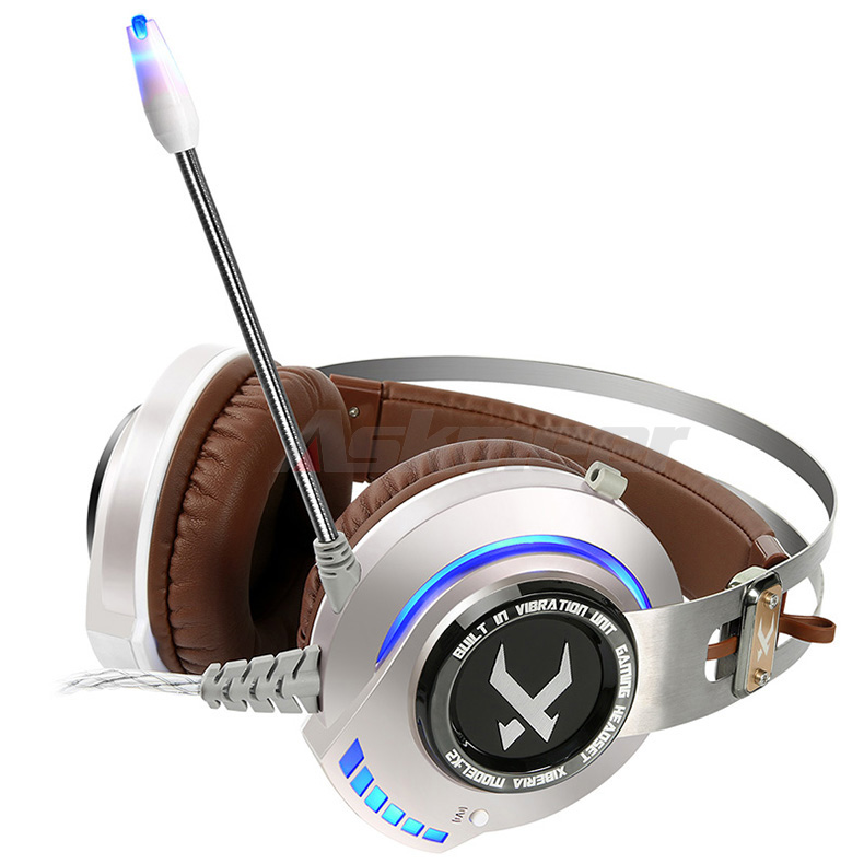XIBERIA K2 Computer Gaming Headphones Stereo Surround Sound Glowing LED Light Game Headset Gamer with Microphone fone de ouvido (5)
