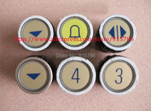Free shipping Elevator buttons / for Schindler D-type radio button / M-shaped elevator buttons round