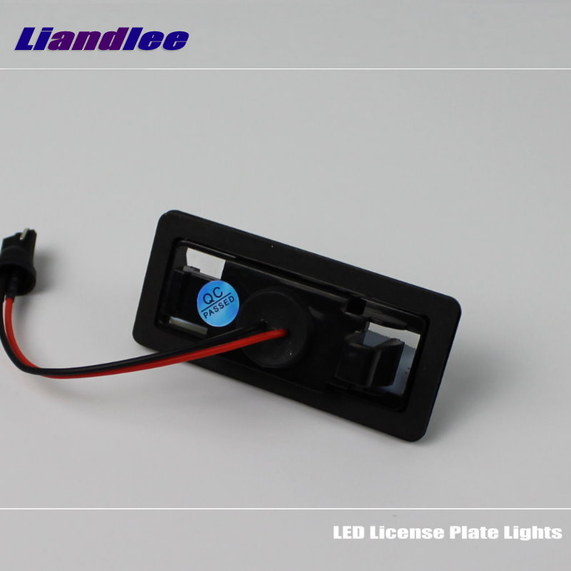 Liandlee For Nissan Pathfinder R51 / Sylphy G11 / LED Car License Plate Light / Number Frame Lamp / High Quality LED Light<br>