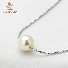 Simple OL Lady Style Imitation Peal Necklace Rose Gold Color Fashion Jewellery Nickel Free Pendant Crystal N430 N362