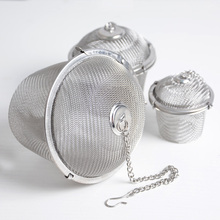 Stainless Steel Seasoning Spice Flavouring Box Condiment Ball Soup tea Halogen Material Filter 3 sizes/set