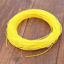 Maximumcatch Yellow Color 3wt/4wt/5wt/6wt Weight Forward FLOATING 100FT Fly Fishing Line